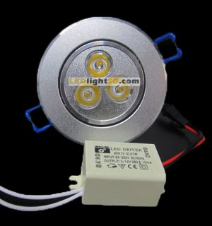 3watt LED Downlight
