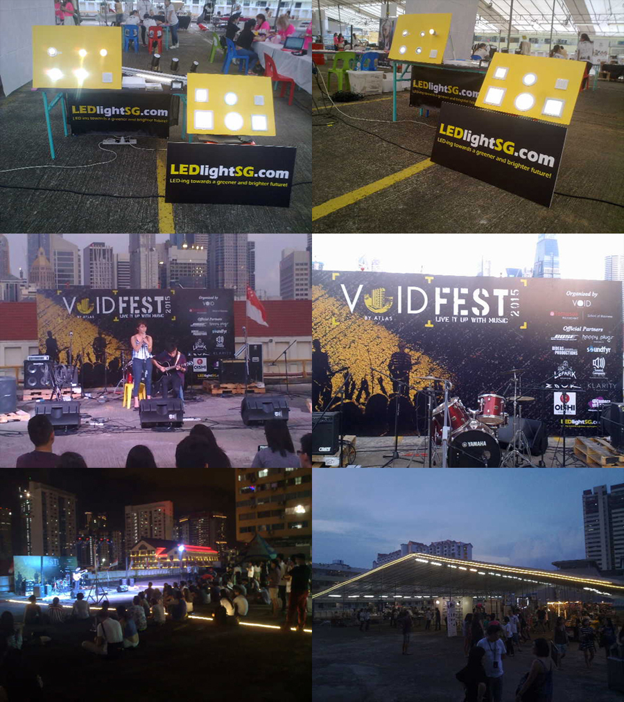 SPONSORED PROGRAMME ~ VOIDFEST-LIVE IT UP WITH MUSIC